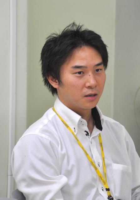 福岡ソフトバンクホークス 管理統括本部 情報システム部 主任 大東智裕氏お写真